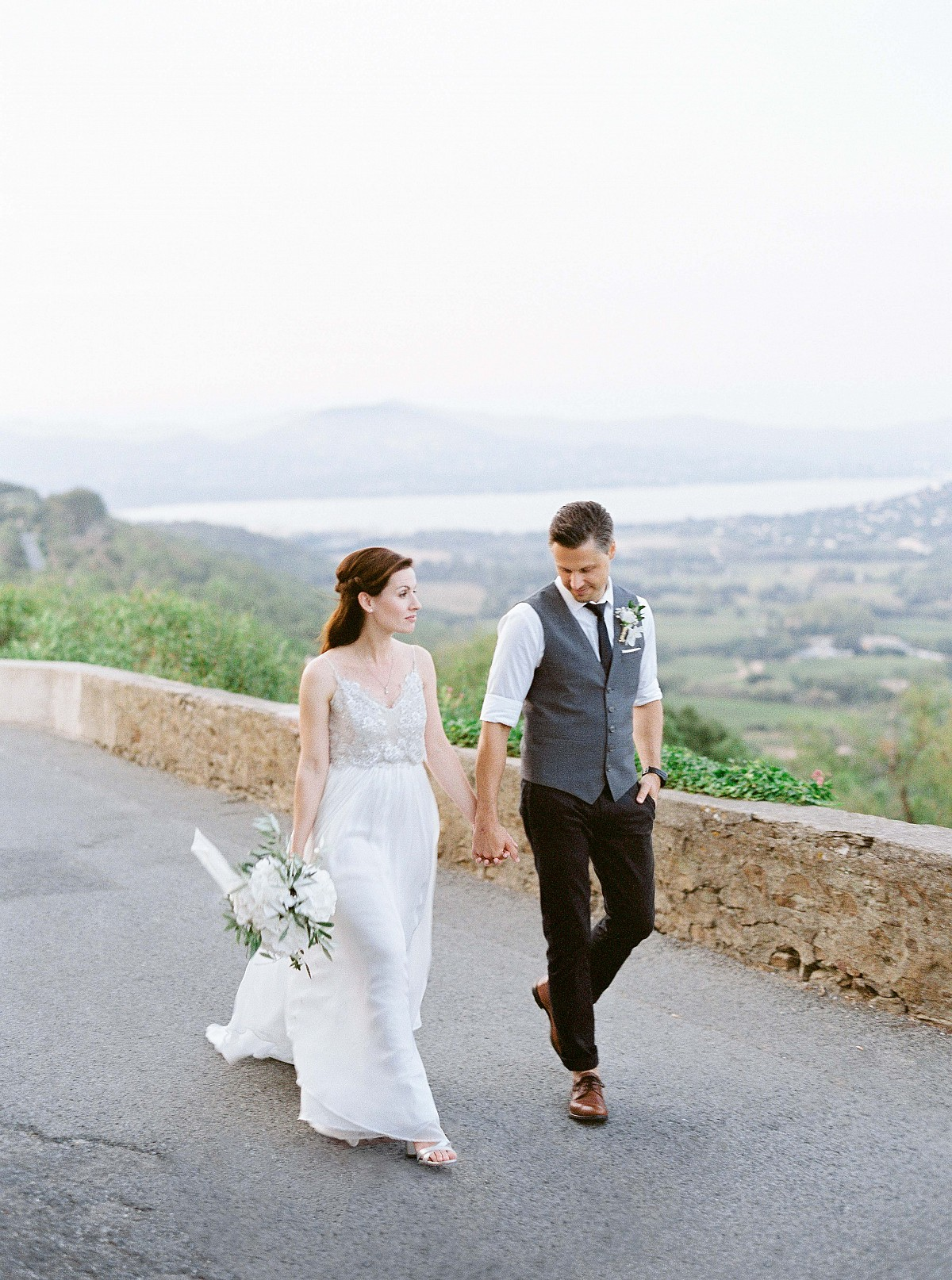 Diana and Ralph's Cote d'Azur Intimate Civil Ceremony