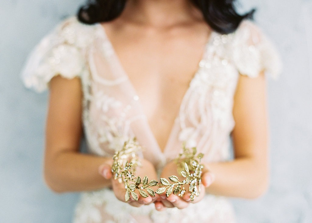 Delicate and Romantic Adornments for the fine art bride
