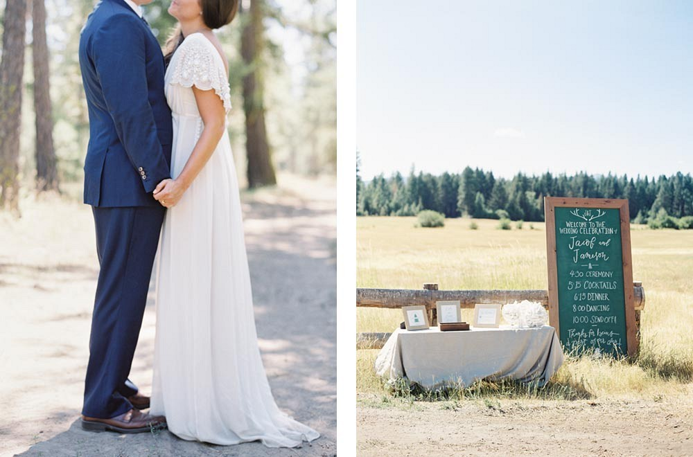 Mountainside Wedding in Washington by O'Malley Photographers | Wedding Sparrow | fine art wedding blog