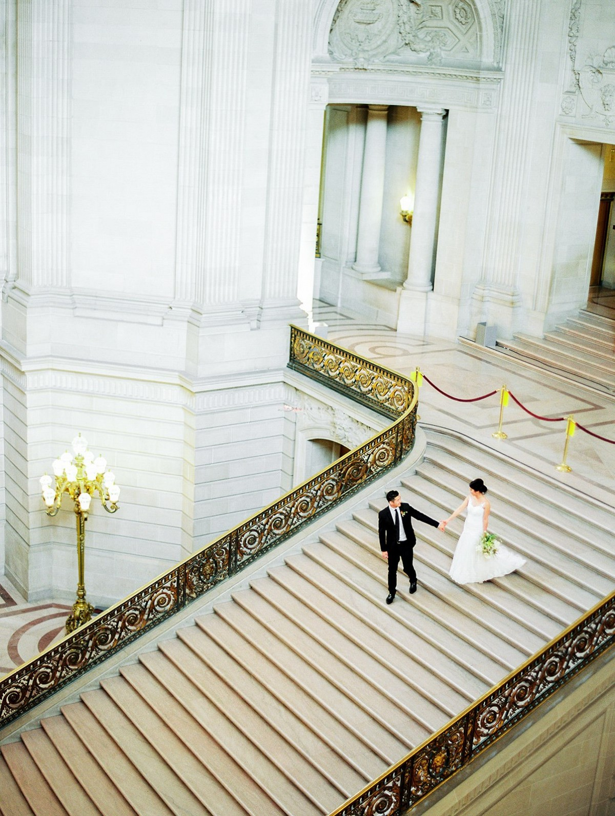 Stunning Elopement at San Francisco City Hall