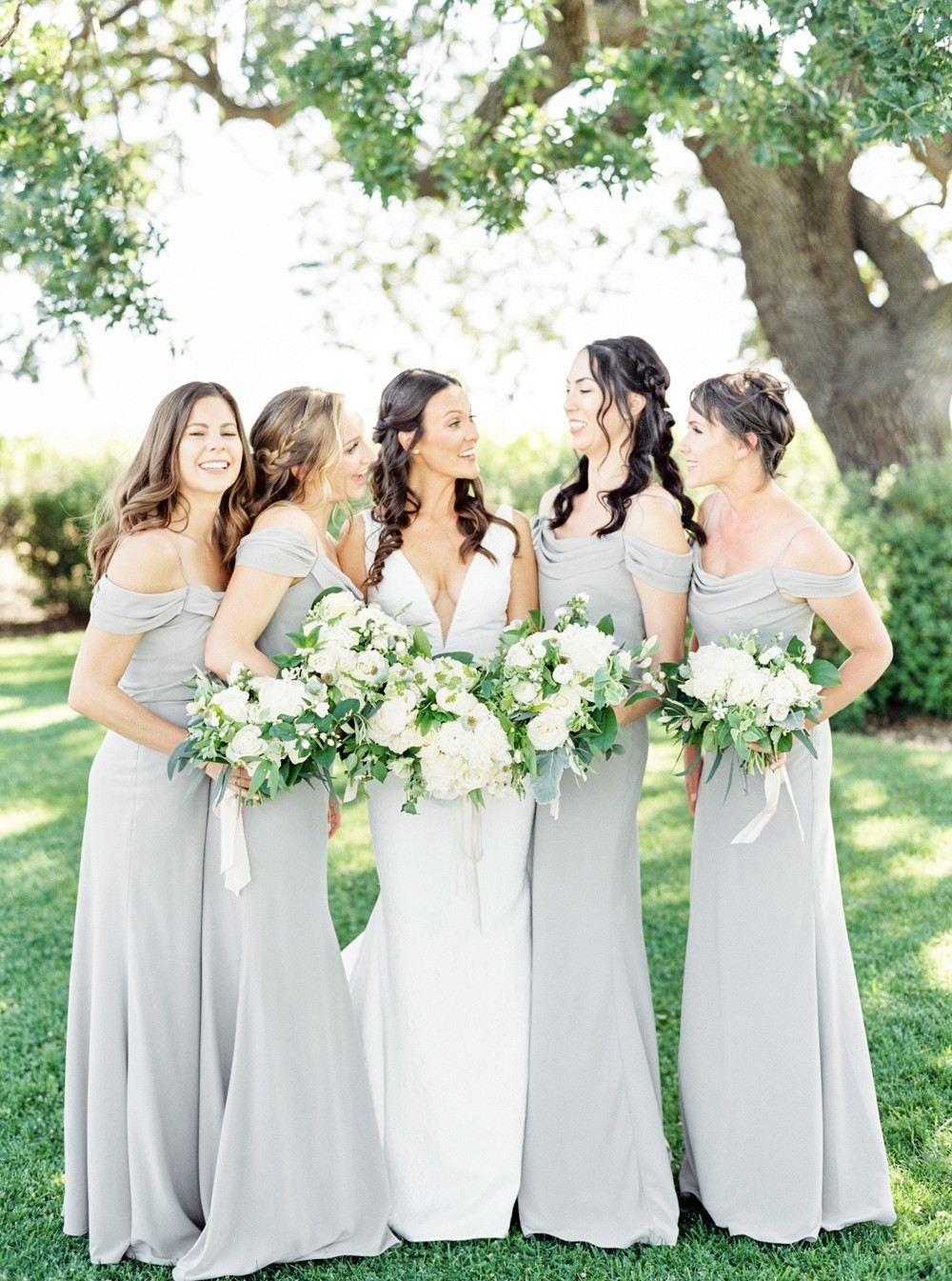 A Grey Outdoor Wedding in Santa Ynez