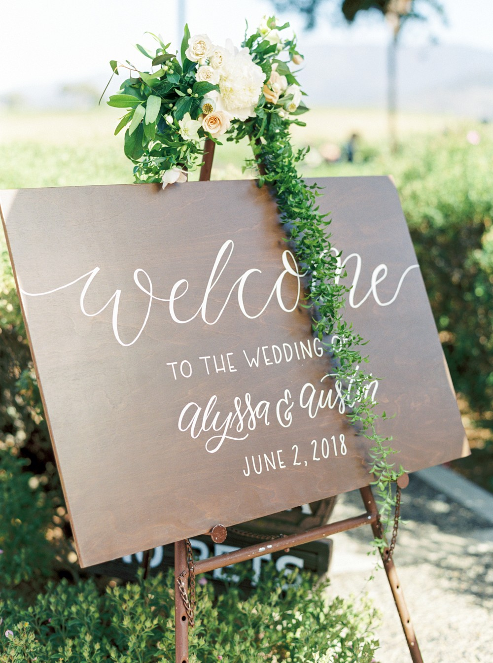 A Grey Outdoor Wedding in Santa Ynez