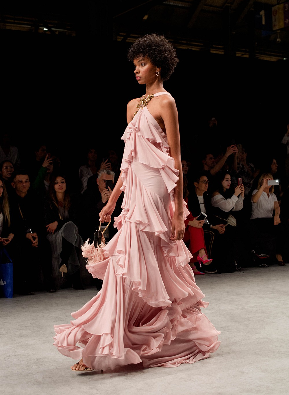 12 Colored Wedding Dresses for the Fine Art Bride - BBFW19