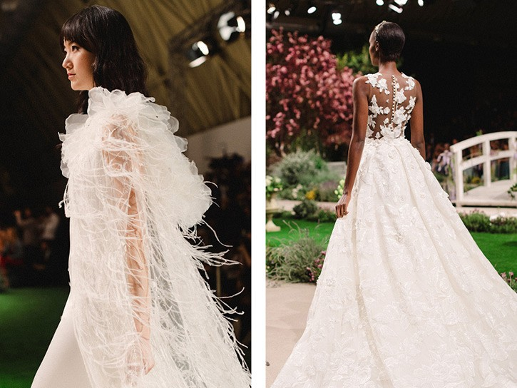 BBFW 2018 - Pronovias, Reem Acra and Rosa Clara