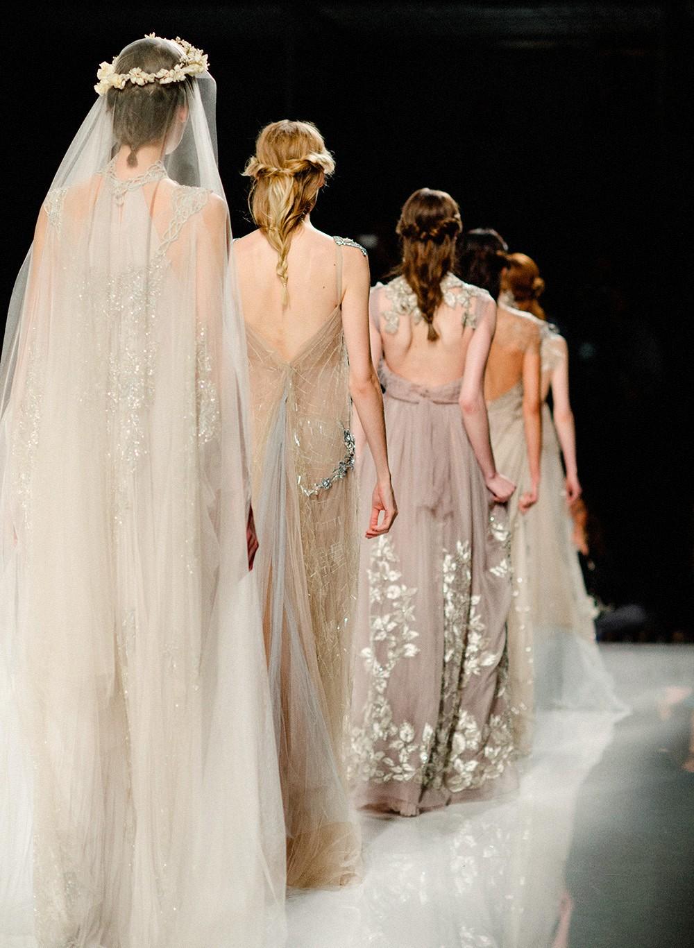 Margo and Maria - Barcelona Bridal Week 2016