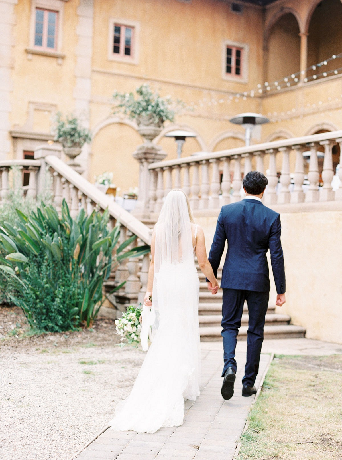 A Fashion Stylist's European Inspired Wedding at Villa Del Sol D'Oro