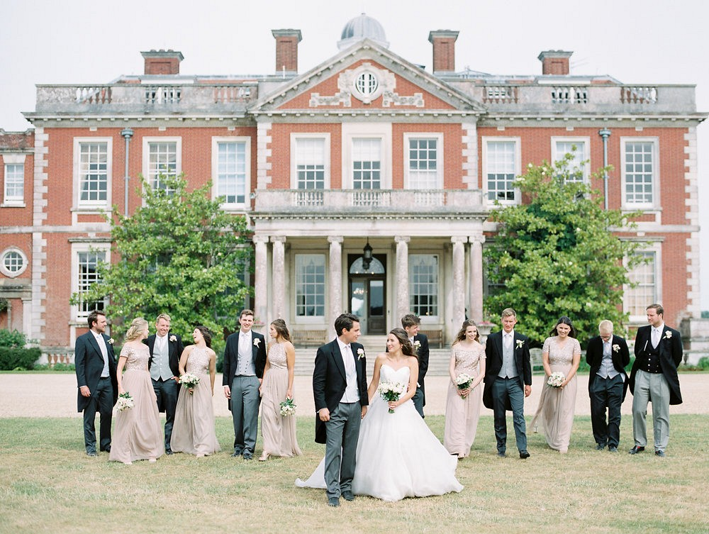 English Manor Wedding at Stansted House