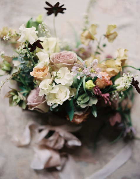 Fall wedding flowers - Katie Hyatt Photography