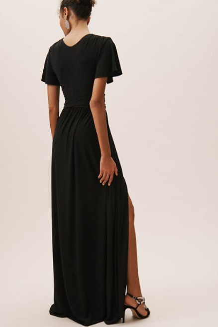 Black Bridesmaids dresses BHLDN