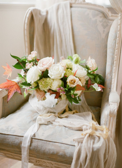 Fall wedding bouquet inspiration