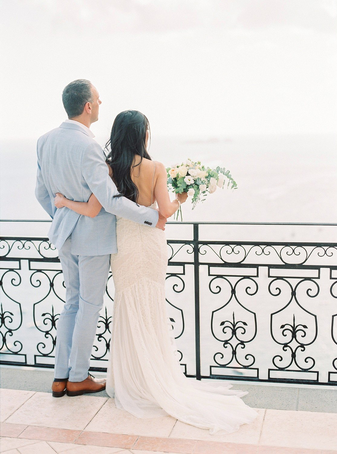 Ocean Inspired Destination Wedding in Positano