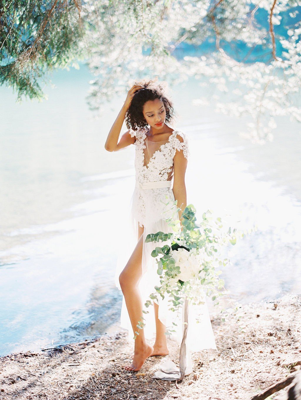 Austrian Lakeside Bridal Session