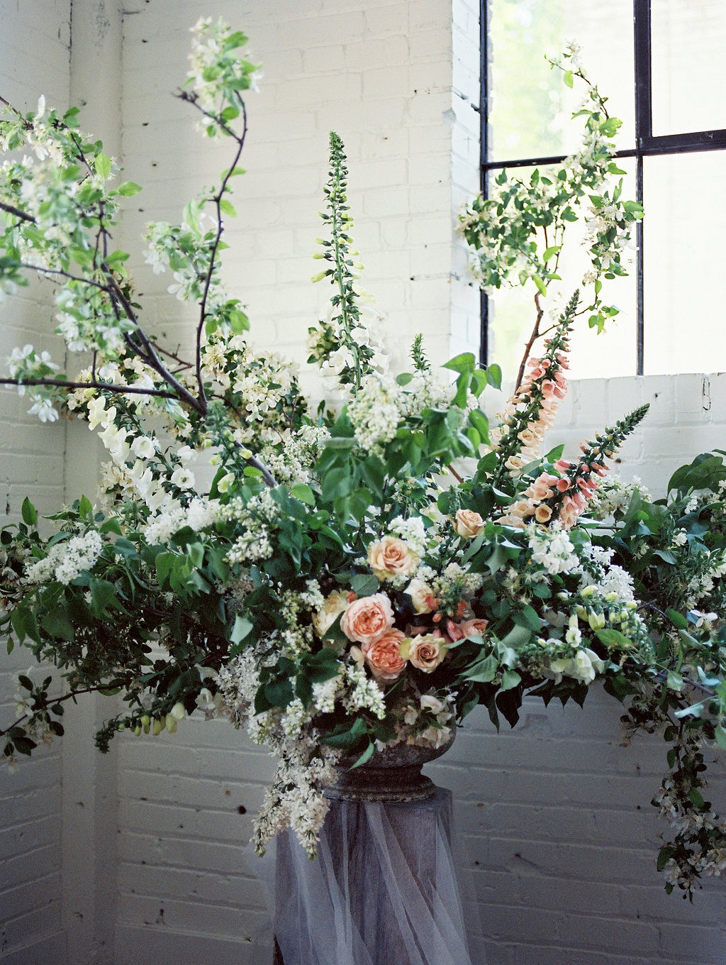 Lush, Organic Wedding Floral Inspiration