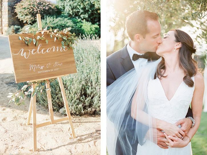 Destination Relaxed Mediterranian Real Wedding