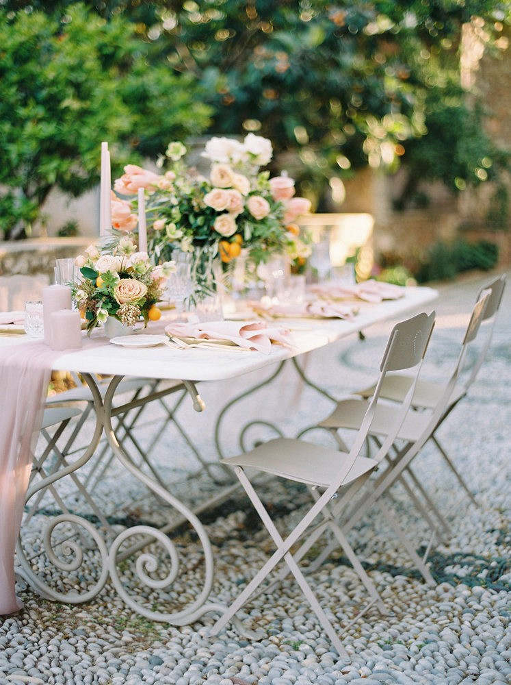 Intimate Spestes Greece Villa Wedding Inspiration