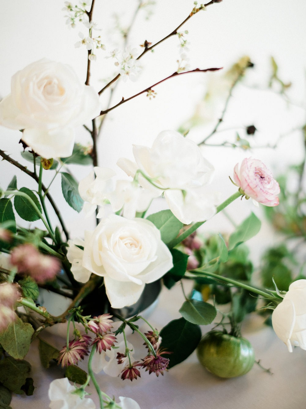 Contemporary Indoor Spring Wedding Inspiration