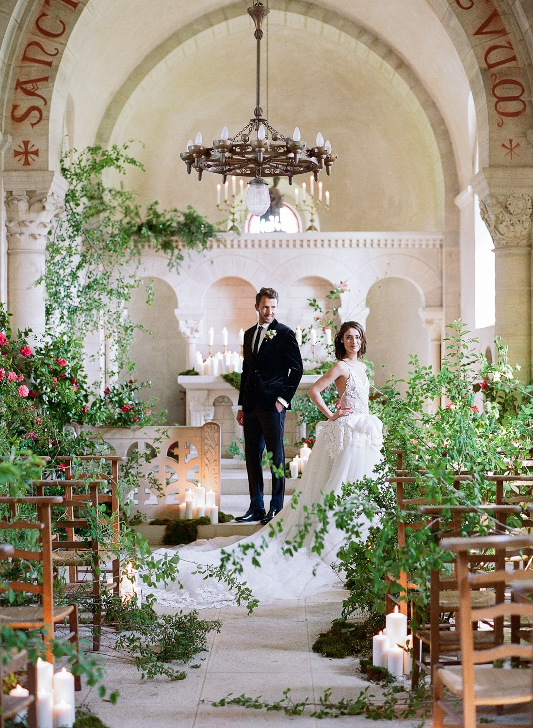 Luxe Wedding in a French Chateau