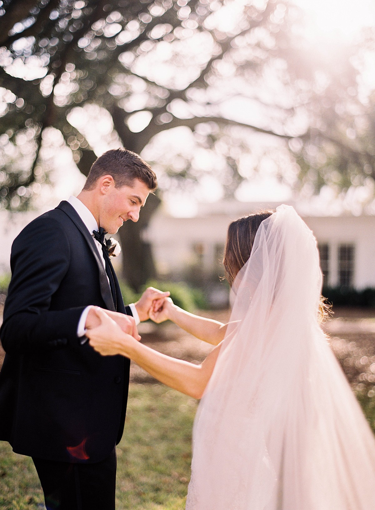 Taylor and Kevin's Luxe and Timeless Plantation Wedding