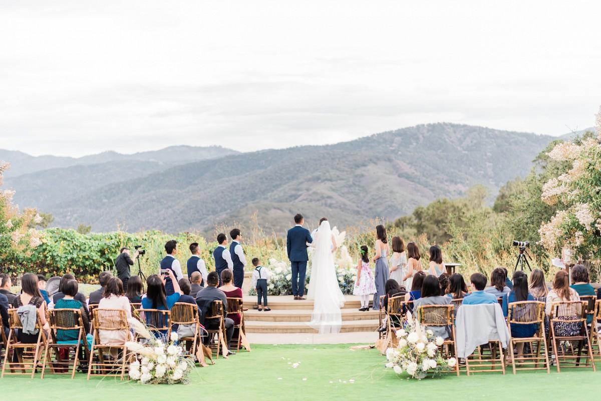 Ranch Wedding with Coastal Decor