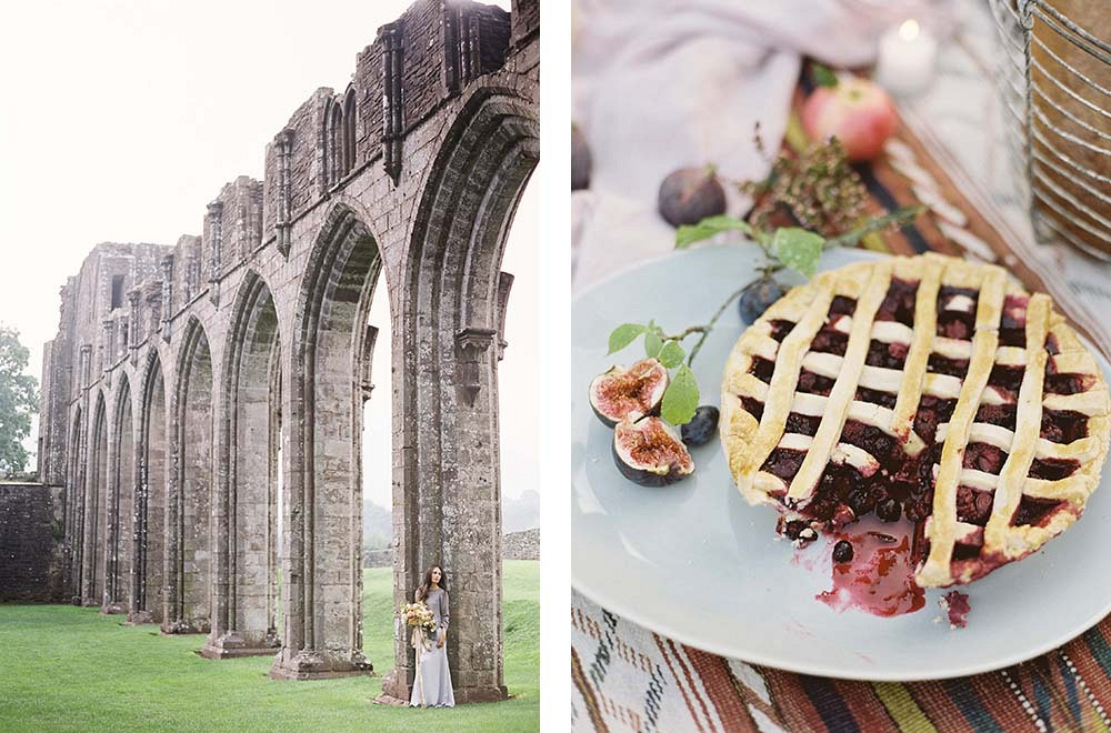 Modern and Earthy Autumnal Vow Renewal by Taylor and Porter   Wedding Sparrow