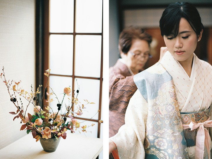 Austere Beauty : Japanese Fall Wedding Inspiration