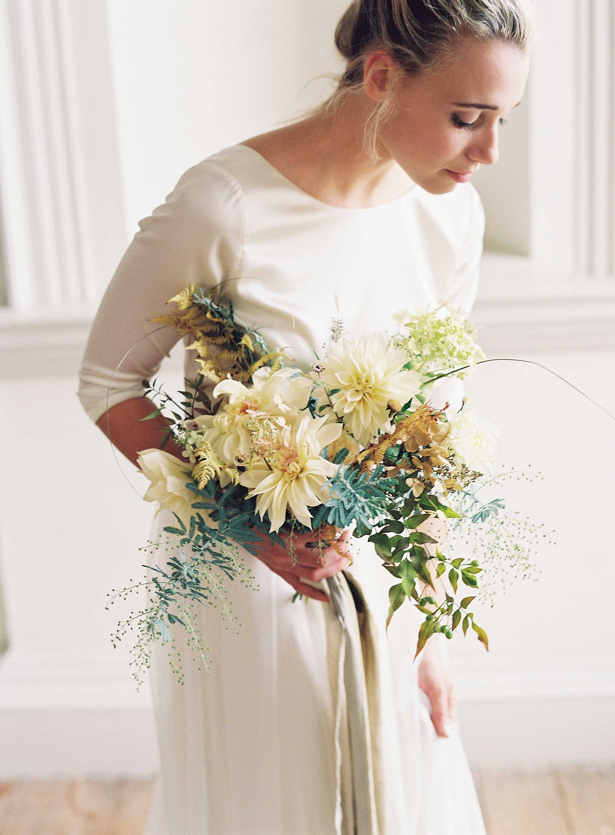 Simple Fall/Winter Wedding Gowns