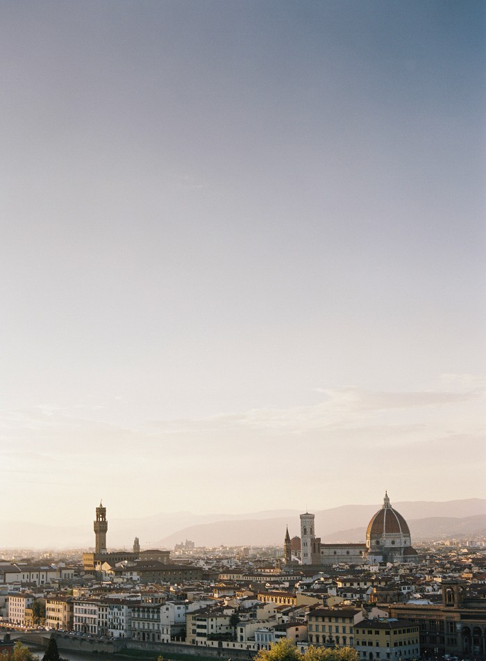 Emily and Johann's Fairytale Anniversary Session in the streets of Florence