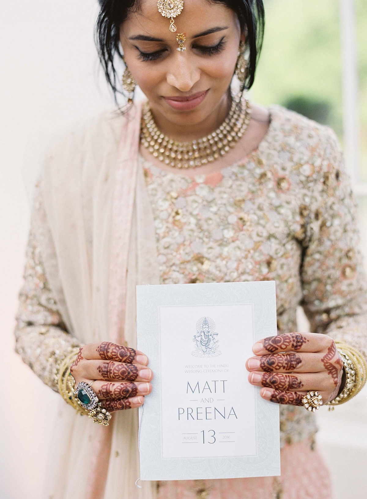 Preena and Matthew's Elegant Multi-faith Wedding