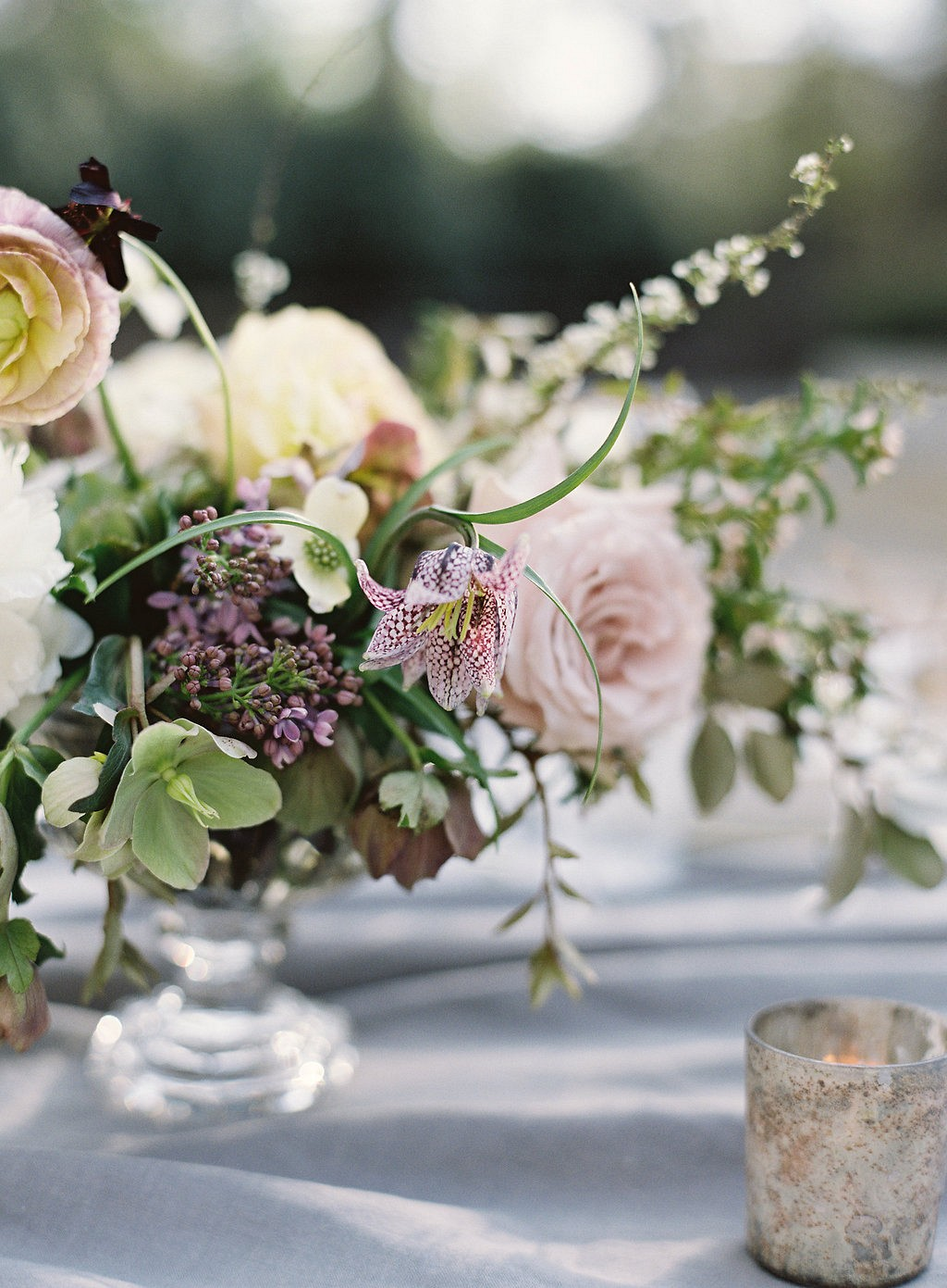 Elegant Mauve and Blush Wedding