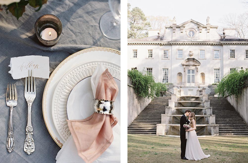 Elegant Mauve and Blush Wedding by Taylor and Porter Photography | Wedding Sparrow