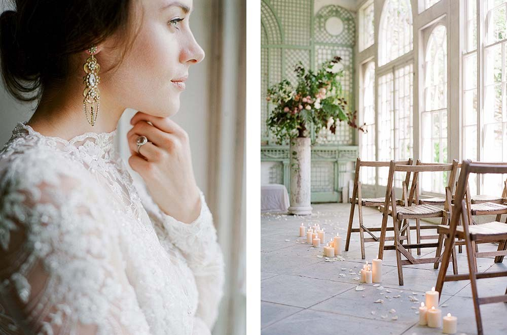 Finding moments of calm on your wedding day by Taylor and Porter | Wedding Sparrow