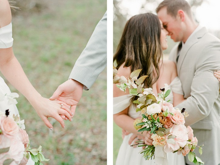 Peach and blush Savannah Wedding Inspiration