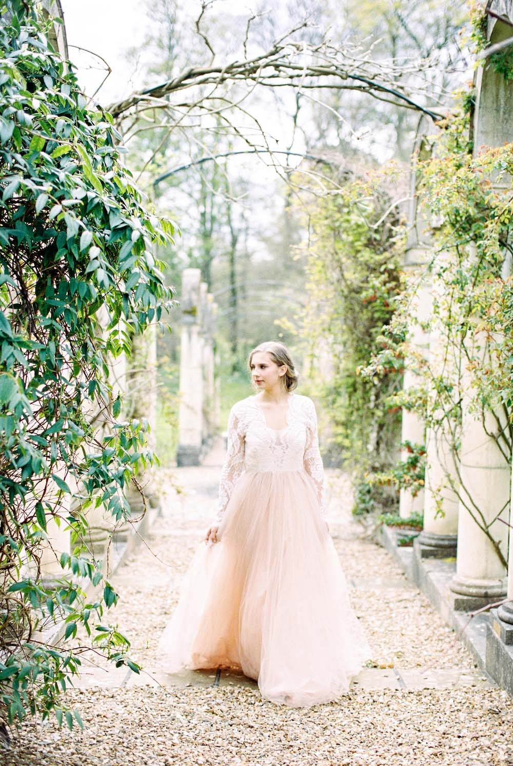 Ornamental Garden Bridal Session