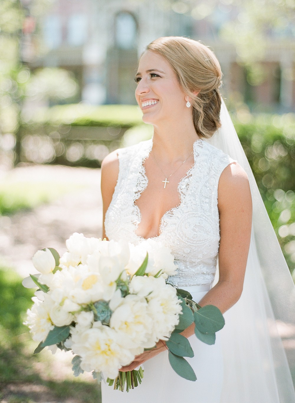 Alecia and Matt's Tampa Wedding in Light Blue