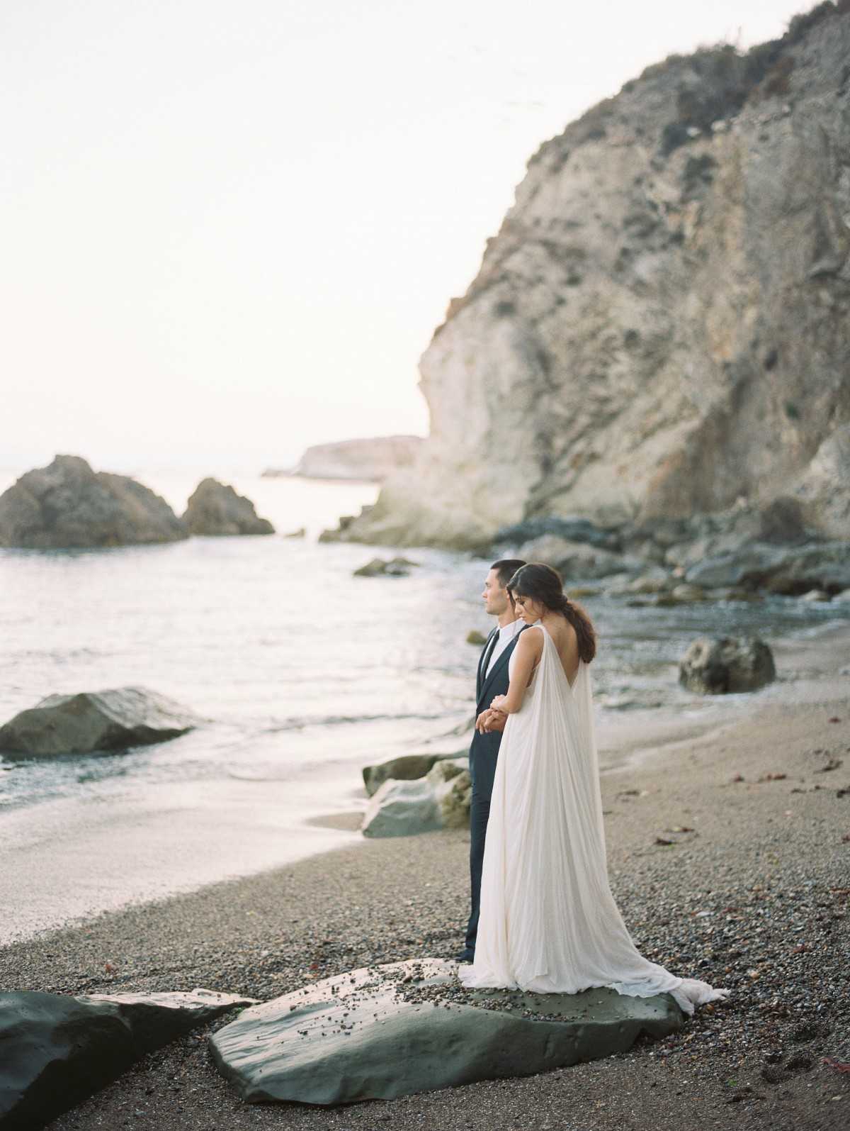 Organic Seaside Elopement