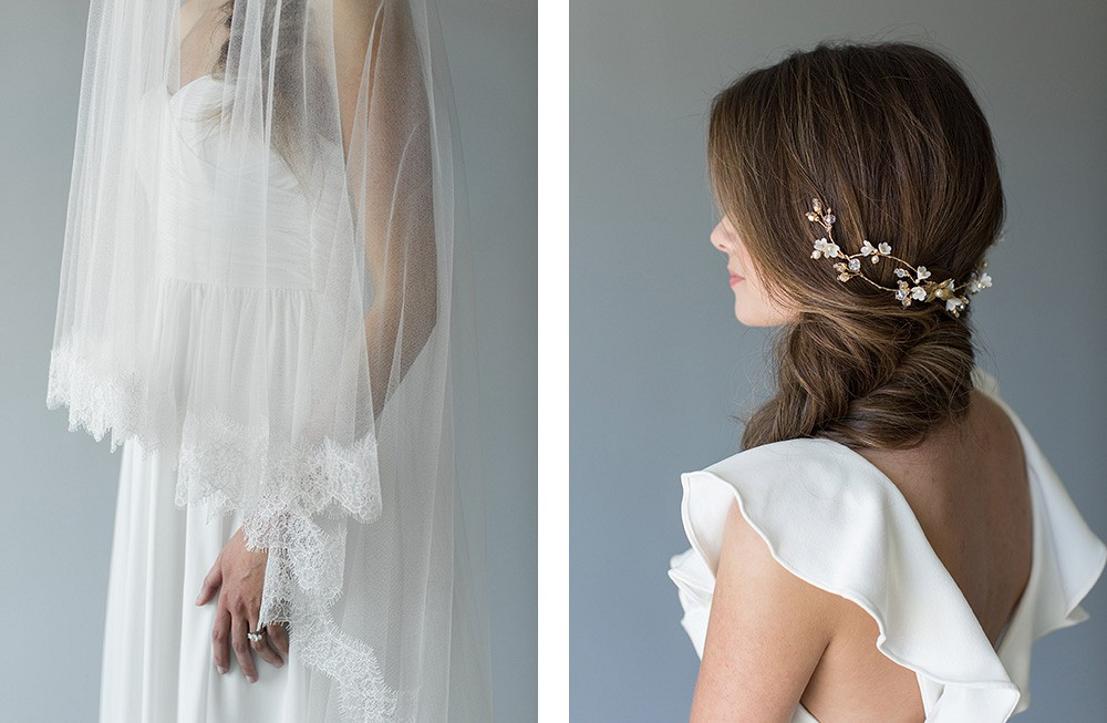 Three bridal hairstyles that we love | Wedding Sparrow fine art wedding blog