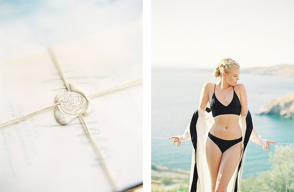 Tips for planning a wedding in Greece | Wedding Sparrow fine art wedding blog