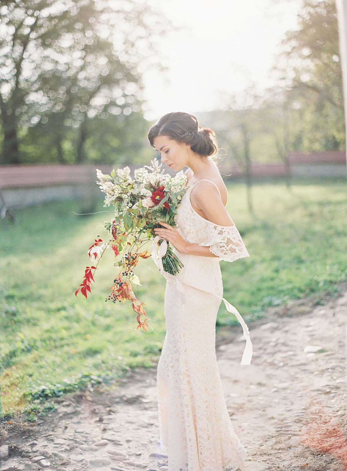 Casual Picnic Inspired Bridal Style