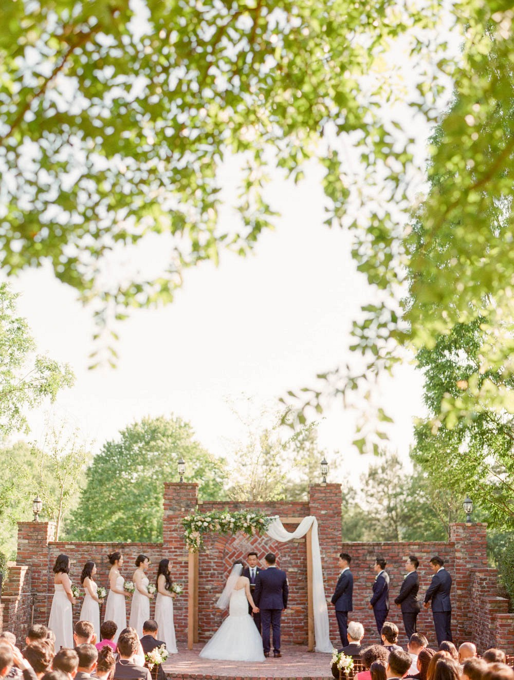 Blush pink garden wedding by Tulle & Grace Photography | Wedding Sparrow | fine art wedding blog
