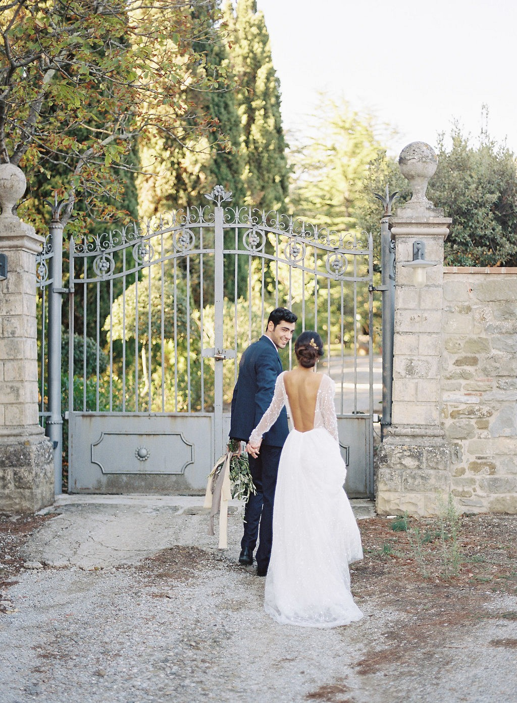 Romantic Tuscan Villa Elopement