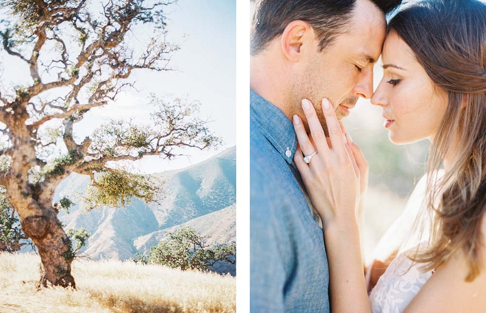 Luminous Engagement Session in Santa Ynez by Sally Pinera Photography | Wedding Sparrow