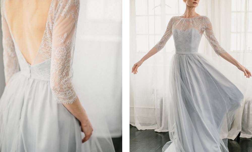 Best 25 Colored Wedding Dresses for the Fine Art Bride - Alexandra Grecco