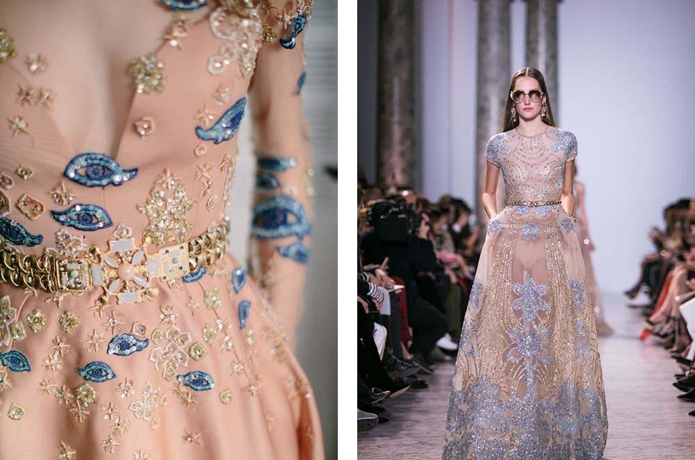 Best 25 Colored Wedding Dresses - Elie Saab