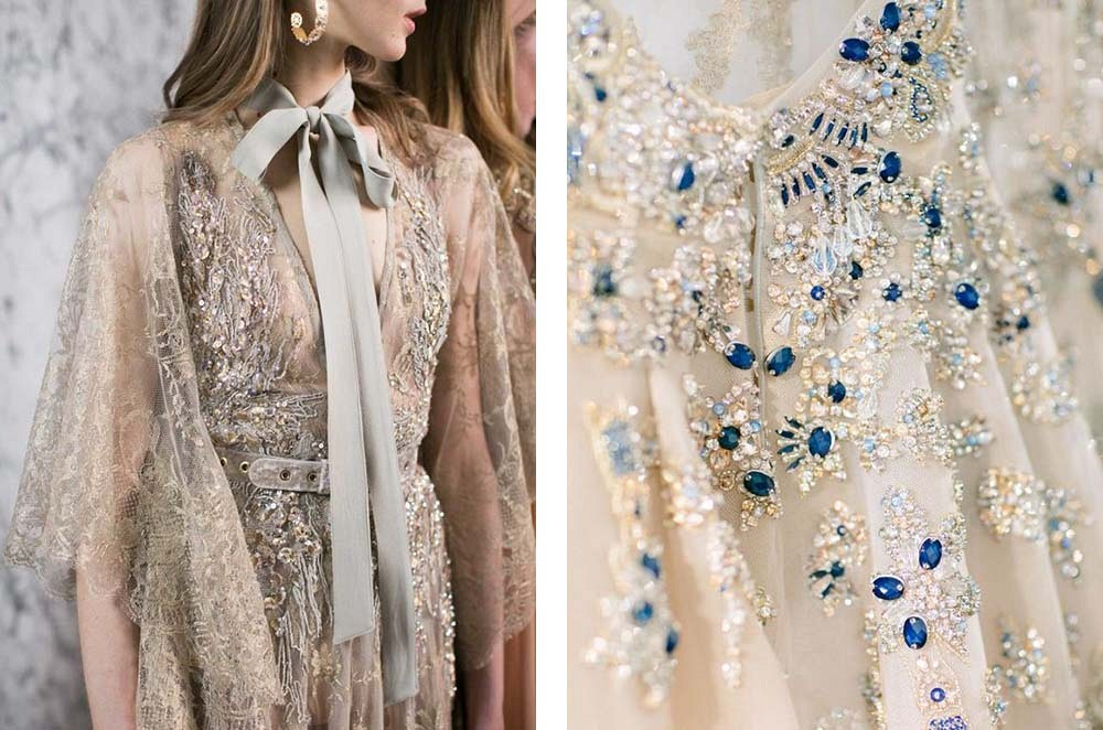 Best 25 Colored Wedding Dresses for the Fine Art Bride - Elie Saab
