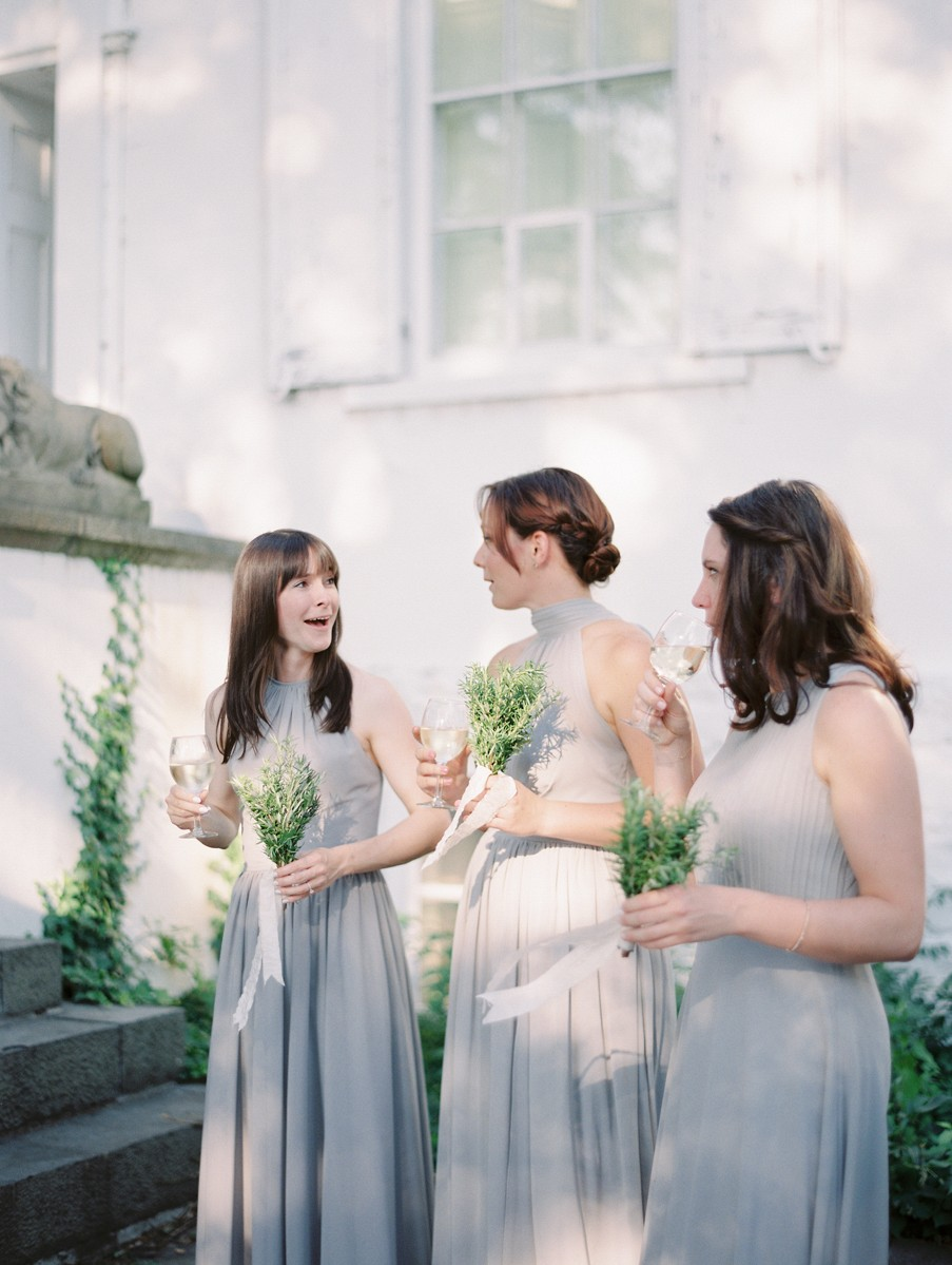 Ashley and Kris' elegant grey wedding in Upstate New York
