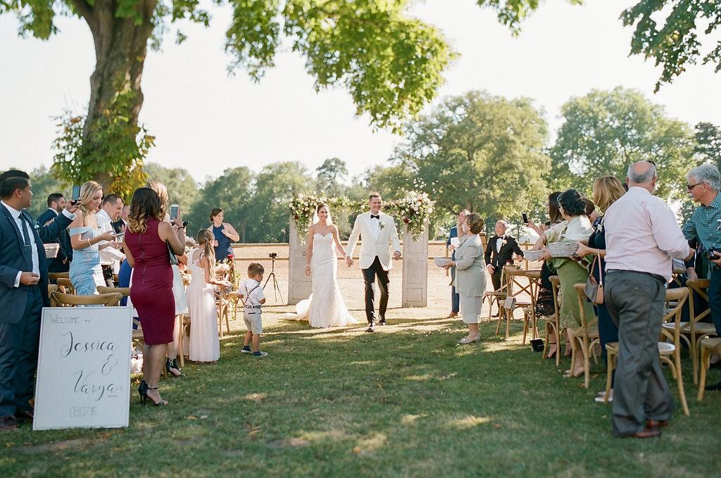 Jessica and Vanya's Elegant Outdoor Destination Wedding