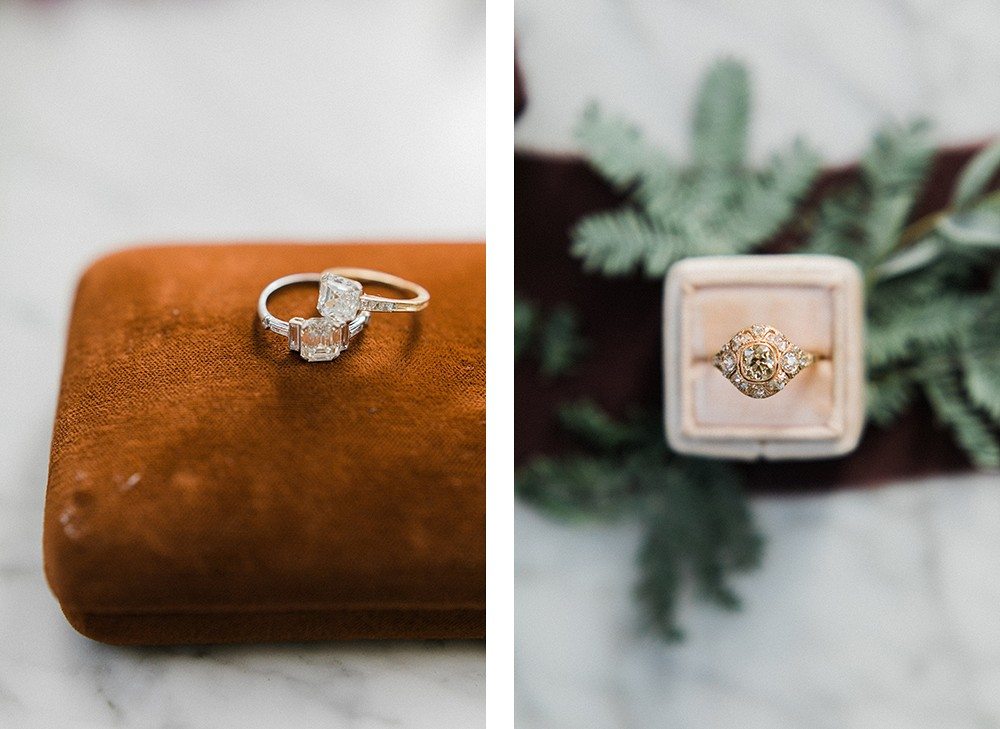 Victo​r Barboné | Wedding Sparrow fine art wedding blog | heirloom vintage engagement rings