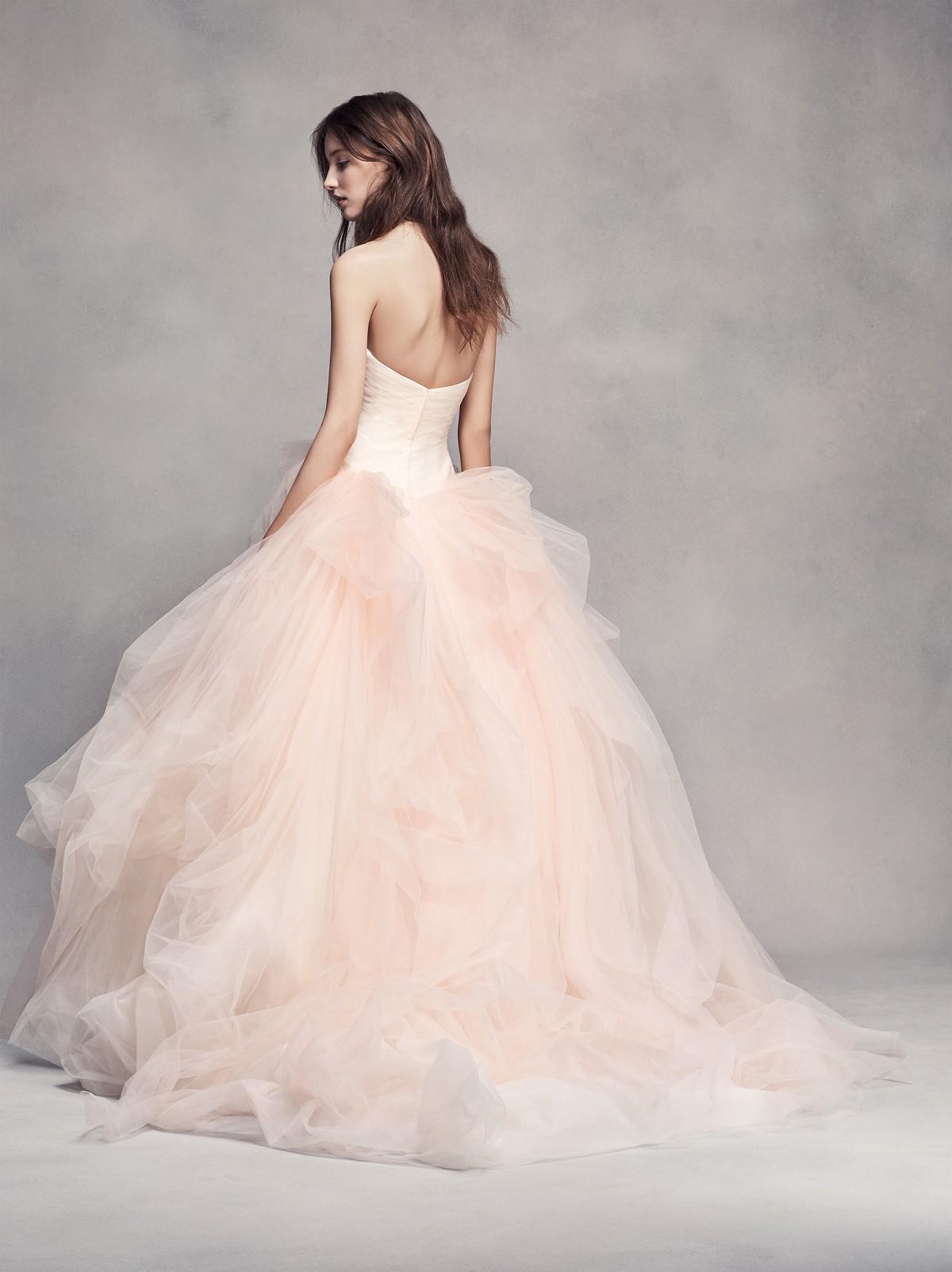 Affordable wedding dresses by David's Bridal