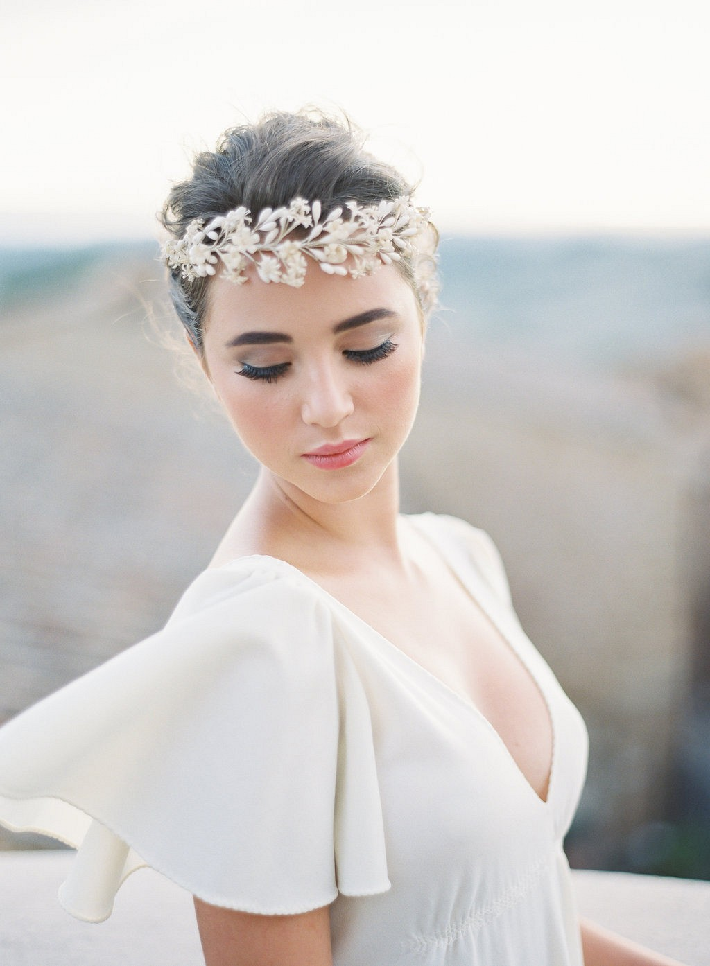 Bridal Session at a Tuscan Villa by Vicki Grafton Photography | Wedding Sparrow | wedding blog