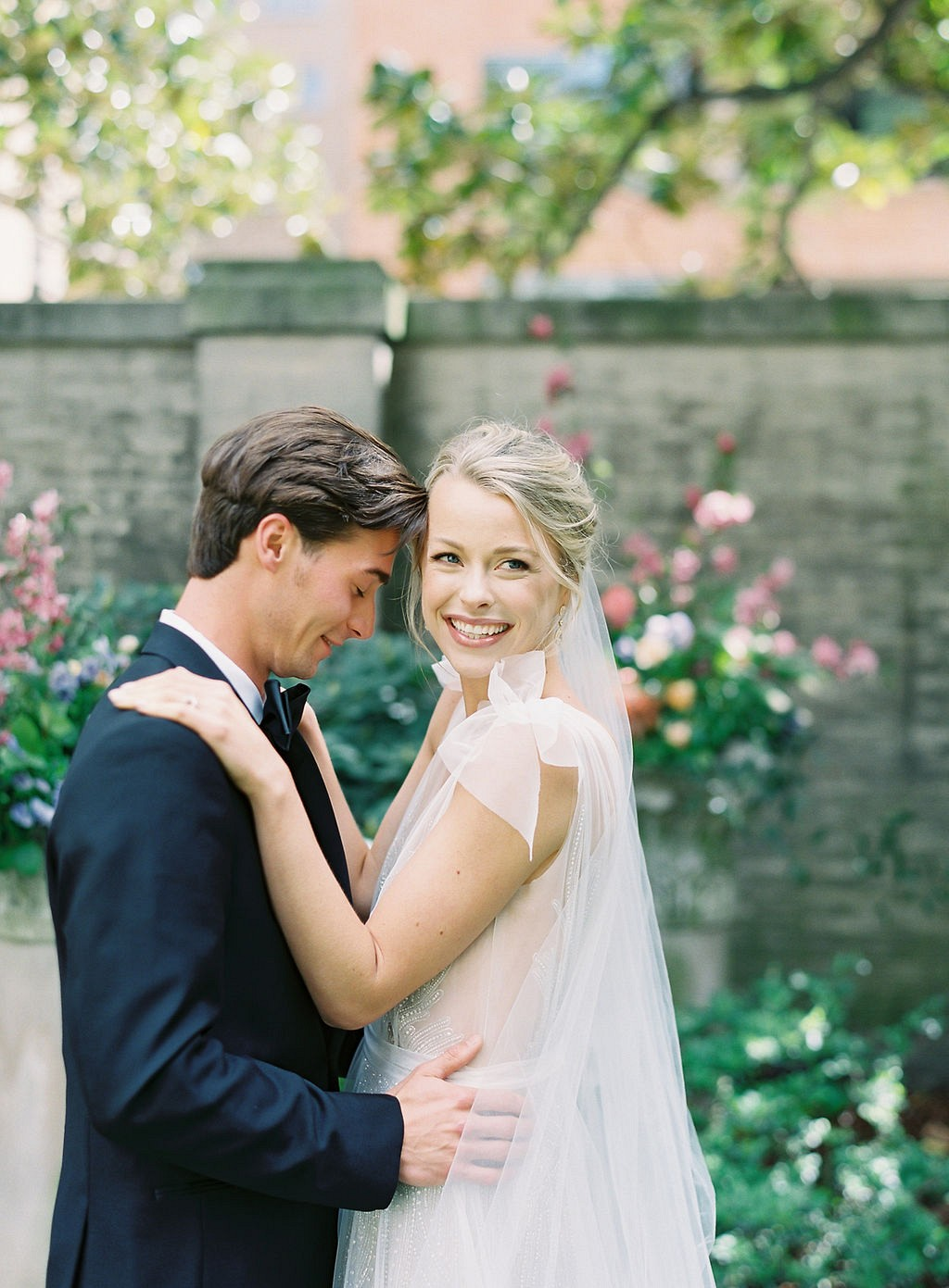 Modern Intimate Wedding with Ines de Santo Gown